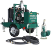 4 inch Hydraulic Submersible Pump and 400D Power Unit