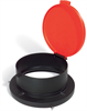 PIG 55-Gallon Open-Head Poly Drum Funnel Black For 55 gal. Open-Head Steel & Poly Drums, 1 each Drum Funnels DRM965-BK -- DRM965