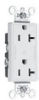 Duplex/Single Receptacle -- 26352-CDGN -- View Larger Image