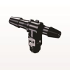 T Connector, Barbed, Black -- MT431 -- View Larger Image