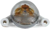 License Lamp,Round, Clear -- 17200