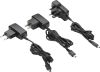 3W Wall Mount AC-DC Power Adapter, Efficiency Level V -- DCH3 Series - Image