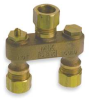 Anti Sweat Toilet Valve,1/2 In,Brass -- 1RLU5 - Image
