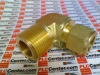 FITTING ELBOW MALE 1/2NPT 3/4IN TUBE BRASS -- B810212