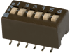 DIP Switches -- 204-6STR-ND -- View Larger Image