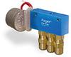 Motor Operated PurgeX for Liquid, 3 Feeds, 1 RPM, 120V/60Hz, Bracket -- B3429-B3B120601