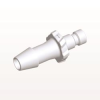 Bayonet Male Connector, Barbed, White -- BC630 -Image