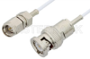 SMA Male to BNC Male Cable 60 Inch Length Using RG196 Coax -- PE33523-60