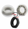 Plastic Lock Nuts -- MIV-NUT