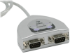 Cables To Go Port Authority USB to 2-Port Serial DB9 Adapter -- 26478