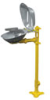 S19214DCFW - Bradley HALO Eye/Face wash, Pedestal mount, Stainless steel with cover -- GO-86001-35 -- View Larger Image