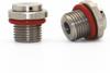 100pcs G1/8'' Metal Brass Vent Plug
