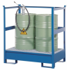 Stackable Steel Transport Spill Pallet with Side Rails -- PAK115