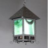 Wrought Iron Hanging Lantern -- B260WS