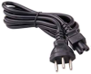 6ft Switzerland 3 pin plug to IEC C5 Power Cord -- P-4614-06B - Image