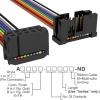 Rectangular Cable Assemblies -- A3AKB-1018M-ND -Image