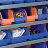 Indicator® Storage Bins -- 36442BLKRED