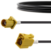 Curry FAKRA Plug to FAKRA Jack Cable 24 Inch Length Using RG174 Coax -- FMCA1352K-24 -Image
