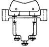 TP Series Rocker Switch, 1 pole, 3 position, Screw terminal, Flush Panel Mounting -- 1TP155-7 -Image