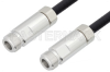 N Female to N Female Cable 60 Inch Length Using 1/4 inch Superflexible Coax -- PE3C0126-60 -Image