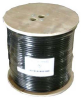 1000ft RG6 Quad Shield Coax Cable CMP White -- 2028-SF-11