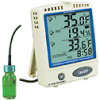 Digi-Sense Calibrated Refrigerator/Freezer Digital Thermometer w/ Memory Card -- GO-37803-84