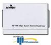 Leviton 10/100Mbps 4-Port Internet Gateway -- 47611-GT4 -- View Larger Image