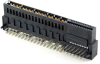 Hybrid Power Right Angle Solder Type Edge Card Connector -- 80306-4A2S24 - Image