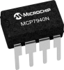 Battery-Backed I2C Real-Time Clock/Calendar with SRAM -- MCP7940N - Image