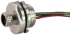 Dual Key Shielded to Coupler Micro-Link Receptacle, Male, 3 pole, 1' -- 203P0010P9 - Image