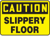 Caution Slippery Floor Sign -- SGN642 - Image