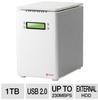 Sabio Storage DM4LH1000 Direct Attached Storage Device - 1TB -- DM4LH1000