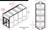 4-Unit Tunnel Standard Profile Double Door Air Showers -- CAP701KD-ST4-97234
