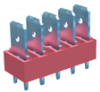 5 Tabs Low Profile Quick Fit Header -- 7820 - Image