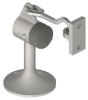 Cast Floor Stop and Holder -- 268F