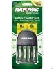 PS131-4BF, OPP 4 Position AA/AAA Charger with 2AA and 2AAA OPP NiMH Batteries (4 packs/case) -- PS131-4BF - Image