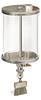 (Formerly B2191-7X-2.25SS), Manual Chain Lubricator, 1/2 gal Acrylic Reservoir, Flat Brush Stainless Steel -- B2191-064AB1SF1W