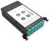 40Gb to 10Gb Breakout Cassette - (x2) 12-Fiber OM4 MTP/MPO ( Male with Pins ) to (x12) LC -- N482-2M12-LC12