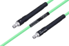 Temperature Conditioned SMA Female to SMA Female Low Loss Cable 60 Inch Length Using PE-P142LL Coax -- PE3M0135-60 -Image