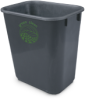 14-Qt. Office Wastebasket -- 9855 - Image