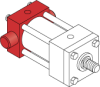 Series MH - ISO Metric Hydraulic Cylinder -- MH72