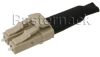 LC Connector Loopback in Beige Body Using 62.5/125 Multi Mode Fiber Optic Cable -- PE600000