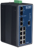 8+2G Combo Port Gigabit Managed Redundant Industrial Ethernet Switch w/ Wide Temp -- EKI-7659CI