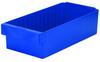 Akro-Mils Akrodrawer 25 lb Blue Polystyrene Shelf Storage Bin - 17 5/8 in Length - 8 3/8 in Width - 4 5/8 in Height - 1 Compartments - 31188 BLUE -- 31188 BLUE