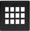 Datacommunication Face Plate -- IFP212BK - Image