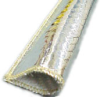 High Temperature Glass Fiber Jacket with Aluminum Foil -- ALHTG-65