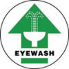 Accuform Slip-Gard Round Floor Signs: Eyewash -- se-17-998-325