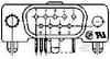 PCB D-Sub Connectors -- 5745001-2 -Image