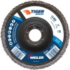 5 Tiger Angled (Radial) Zirc Flap Disc 60Z 7/8 Arbor Hole -- 51307 -Image