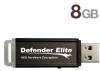 Kanguru KDFE-8G 8GB Defender Elite Encrypted Flash Drive - 8 -- KDFE-8G